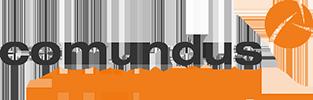 Logo comundus consulting - das Logo zeigt den Schriftzug